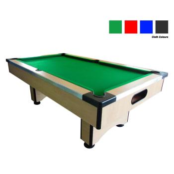 Elite Wood Pool Table (Maple)