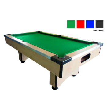 Elite Slate Pool Table (Maple) - Out of Stock - Notify Me