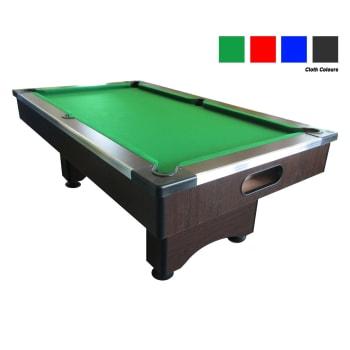 Elite Slate Pool Table (Wenge) - Find in Store