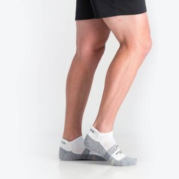 Falke 8358 Mns Advance Golf Hidden Socks 10-12 (White/Grey)