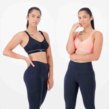 Shock Absorber Women's High Impact Cotton 2 Pack Sports Bra