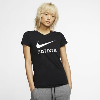 Nike Womens Just do it Slim Tee - Out of Stock - Notify Me
