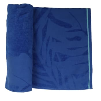 LANE 4 SWIM TOWEL - LEAF TEXTURE (VEL)