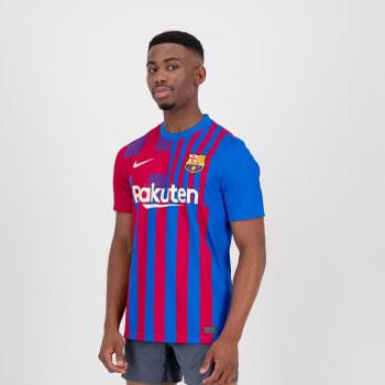 Barcelona Men's Home 21/22 Soccer Jersey