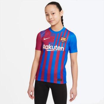 Barcelona Junior Home 21/22 Soccer Jersey