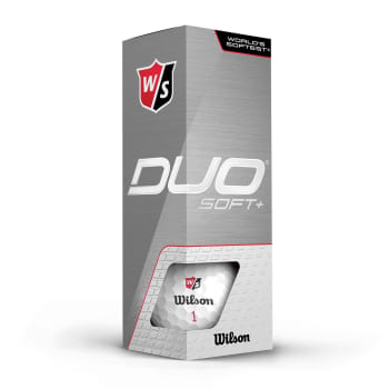 Wilson Duo Soft Plus Golf Balls - 3 Ball Pack