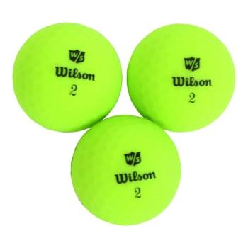 Wilson Duo Optix Golf Balls - 3 Ball Pack