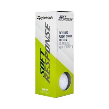 Taylormade Soft Response Golf Balls 3 Pack