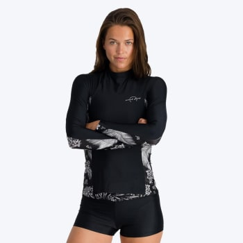 Second Skins Women's Palm Paradise Long Sleeve Rashvest