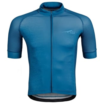 First Ascent Mns Attack Cycling Jersey  (S20 - Blue Depth)