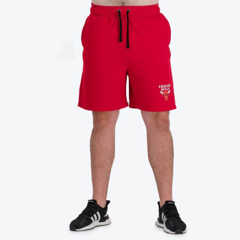 Chicago Bulls Retro Shorts (Red)