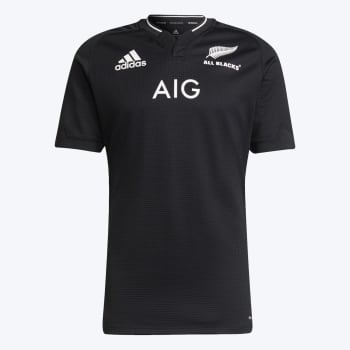 All Blacks Men's Home 2021 Rugby Jersey