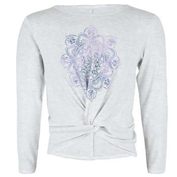 OTG Girls Mandala Twist Long Sleeve Top