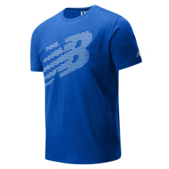 New Balance Men's Tenacity Heather Printed SS Tee - Out of Stock - Notify Me