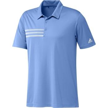 adidas Men's Golf 3 Stripe Chest Polo