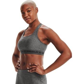 Under Armour Women's Crossback Mid Heather Sports Bra