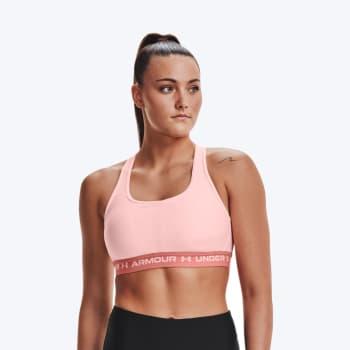 Under Armour Women's Mid Crossback Sports Bra