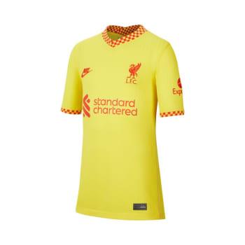 Liverpool Junior 3rd 21/22 Soccer Jersey
