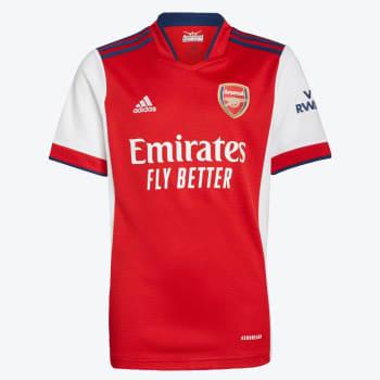 Arsenal Junior Home 21/22 Soccer Jersey