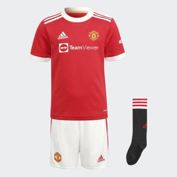 Man United Infant Home 21/22 Soccer Kit