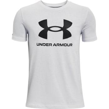 Under Armour Boys Sportstyle Logo Short Sleeve T-Shirt