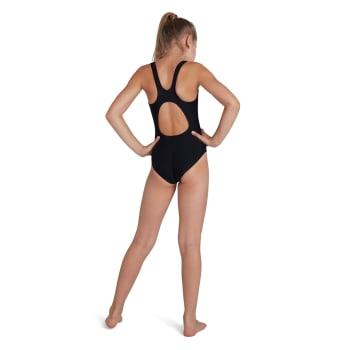 Speedo Girls Plastisol Placement Muscleback 1 Piece
