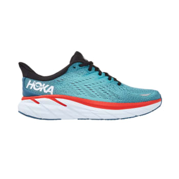 Hoka One One Men's Clifton 8 Wide Road Running Shoes