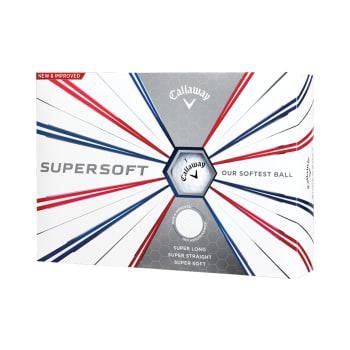 Callaway Supersoft Golf Balls - 3 Ball Pack