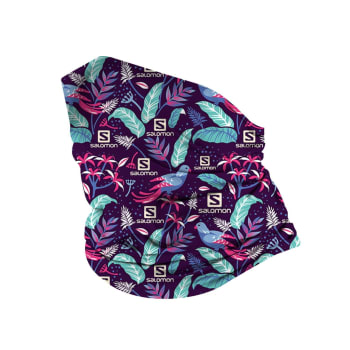 Salomon Neck Scarf Purple - Out of Stock - Notify Me