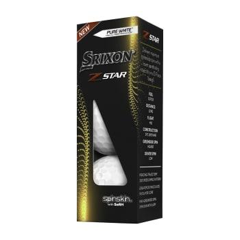 Srixon Z-Star 7 Golf Balls - 3 Ball Pack