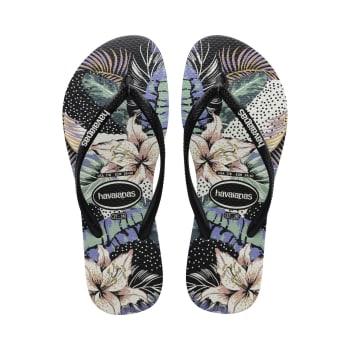 Havaianas Women's Slim Floral Dots Sandals