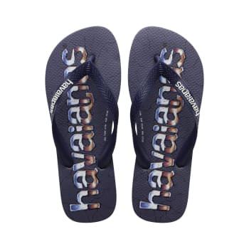 Havaianas Men's Top Logo Mania Print Sandals