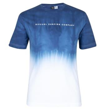 Rip Curl Men's Blues Dip Dye T-Shirt