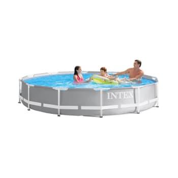 """Intex Prism Metal Frame Premium Pool 12' x 30"""""""