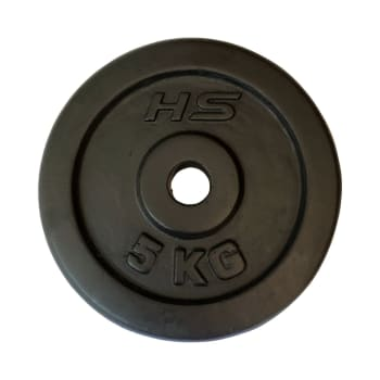 HS Fitness 5kg 30mm Weight Plate - Find in Store