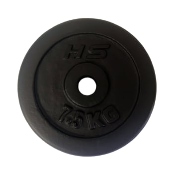 HS Fitness 7.5kg 30mm Weight Plate - Find in Store
