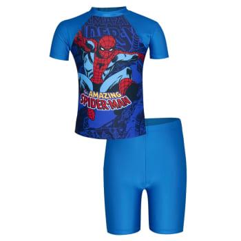 Spiderman Boys Rashvest and Bottom Set