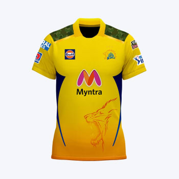 Chennai Super Kings Men's 2021 Match Jersey - Out of Stock - Notify Me