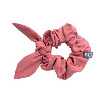 OTG Women's Blush Sunlover Scrunchie with Bow
