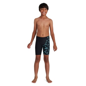 Speedo Junior Boom Logo Allover V Cut Jammer - Out of Stock - Notify Me