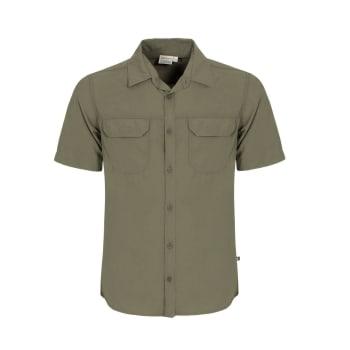 African Nature Men's Tech Short Sleeve Shirt