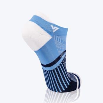 Versus Light Blue & White Trainer Sock Size 4-7