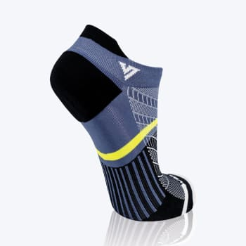 Versus Grey & Black Trainer Sock Size 8-12