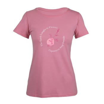 Capestorm Women's flower T - Shirt