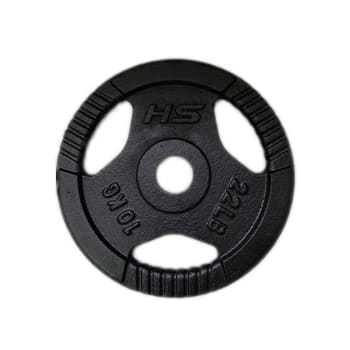HS Fitness Olympic 10kg Grip Plate