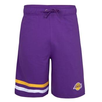 LA Lakers  Fleece Shorts (Purple)