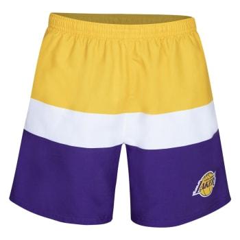 LA Lakers Summer Blocked Shorts