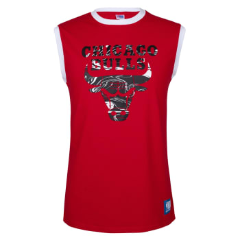 Chicago Bulls Fly Squad Cotton Vest (Red)
