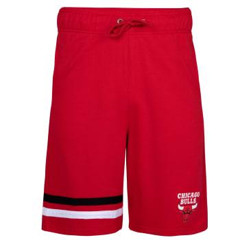 Chicago Bulls Fleece Shorts (Red)