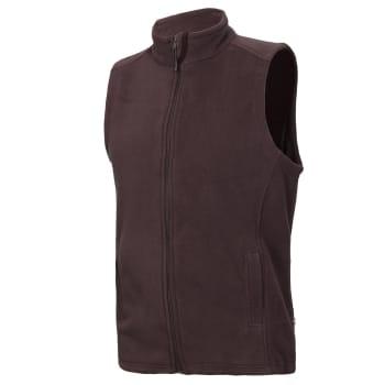 Men's Zip Through Essential Fleece Vest - Out of Stock - Notify Me